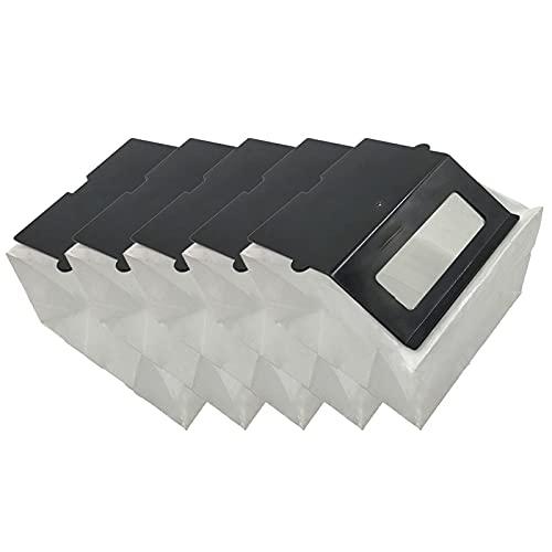 Ricambi di ricambio Accessori per aspirapolvere 5 pezzi Sacchetto per la polvere Qualità premium per la pulizia del robot Qualità premium per Veniibot N1/N1Max Accessori per le parti dell'aspirapolver
