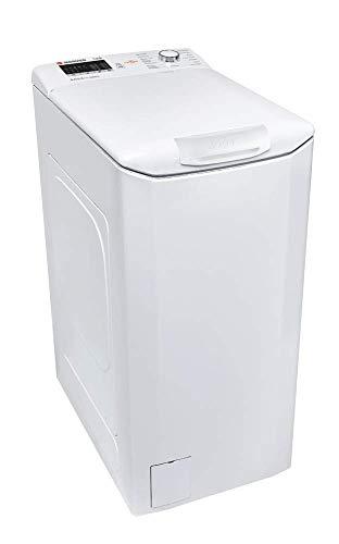 Hoover HLT 3650L-37 - Lavadora carga superior 6,5Kgs, 15 programas, 1000rpm, NFC, display táctil, 61dBA, clase A+++AC, color blanco