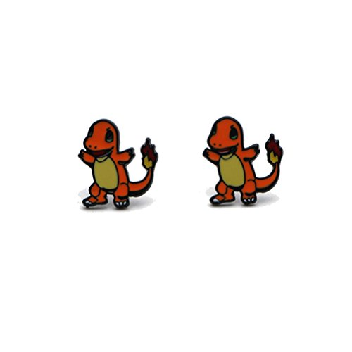 Caringa – Pendientes Pokémon Charmander