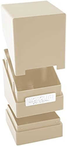 preferente Monolith Deck Case 100+ Standard Talla Sand Card Card Card Game by Flat River Group  Envíos y devoluciones gratis.
