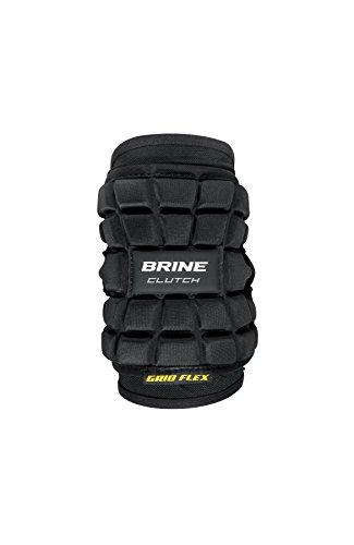 Brine Lacrosse Clutch Elbow Pads 2017, Black, Medium