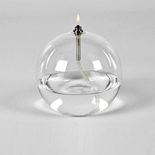 Peri GLASS - 1243 Lampe à huile ronde en verre GM 13 cm