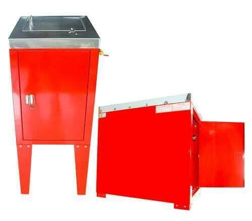 BenBow Reinigungsgerät Waschautomat Lackierpistolen 2 Pistole (130) Reiniger Reinigungsgerät Pistolenreinigungsgerät Waschmaschine Lackiererei