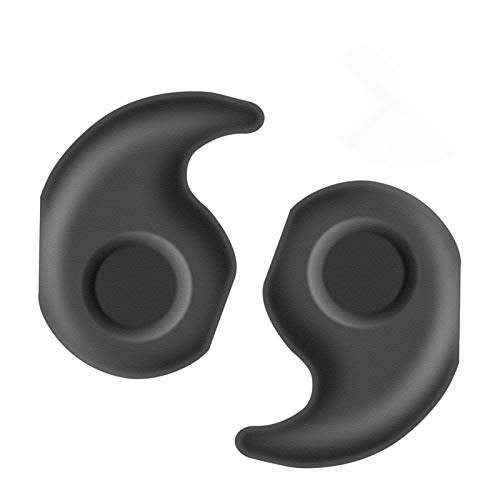 YR Anti-Slip Eyeglasses Temple Tips Sleeve Retainer, Stretchy Comfort Silicone Glasses Ear Grips Retainer For Eyewear Sunglass Reading Glasses, 10 Pairs, Black 10 Pair Reading Glasses