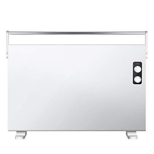 Emisor Térmico Calentador eléCtrico de Calentamiento RáPido DoméStico de Temperatura Constante Inteligente a Prueba de Agua de Cuatro Niveles con Corte de Seguridad TéRmica/Blanco / 2200W