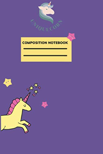 Composition Notebook: 9 * 6 inche 120 pages With Lined || Writing stories to remember later || Uni designs. Child gift !