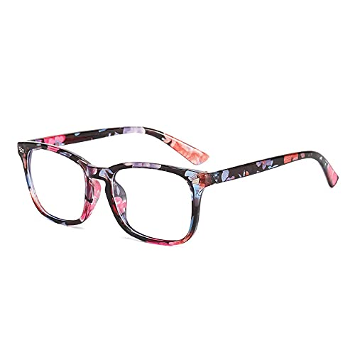Marco cuadrado de moda Marco de gafas de uñas de arroz cuadrado de moda, espejo de computadora, gafas anti-azules 3