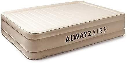 Bestway - AlwayzAire Fortech Airbed with Built-in AC Pump, 17 Inch Queen