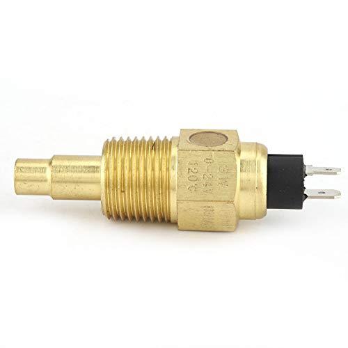 SALUTUYA 1 Uds VDO Sensor de Temperatura de Alta confiabilidad 1/2NPT Agua para Aceite Medidor de Temperatura de Temperatura del Agua