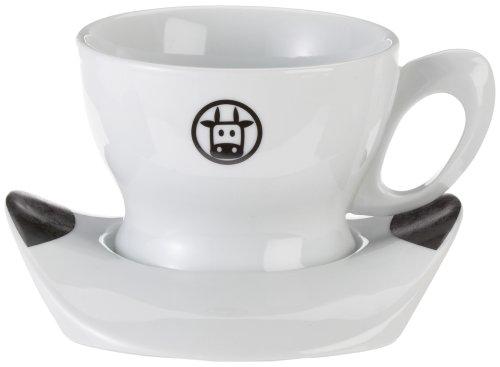 Bialetti Cappuccinotasse Nr.990 - 400 ml mit Mukka-Logo