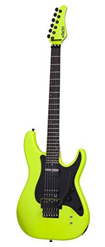 Schecter 6 String Solid-Body Electric Guitar, Birch Green (1289)