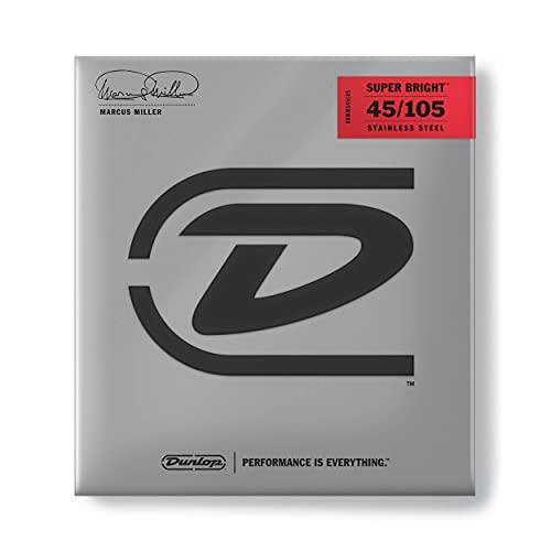 Dunlop DL STR DBMMS 045 105 Marcus Miller Super - Juego de cuerdas para bajo