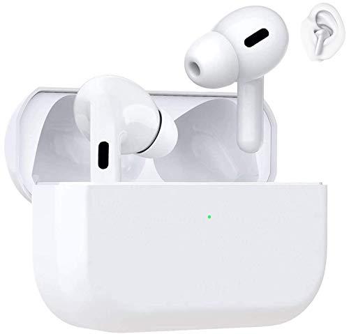 Auriculares Inalámbricos Bluetooth 5.0 Auriculares Bluetooth Deportivos IPX5 reducción del Ruido estéreo 3D HD con Caja de con Microfono Dual y de Carga para Android/iPhone/Apple AirPods/Samsung