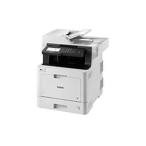 Brother - MFC-L8900CDW 2400 x 600DPI Laser A4 31ppm Wifi Negro, Gris multifuncional