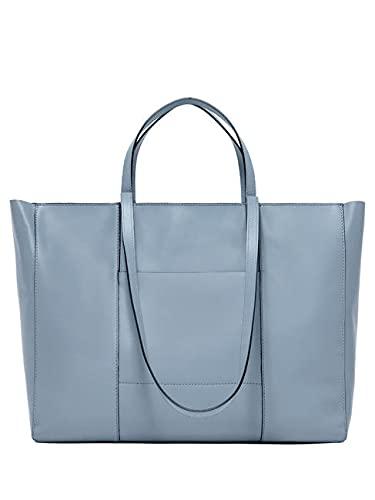 Gianni CHIARINI BORSA DONNA superlight zip shopping bag SoftBlue BS.7356/20PE.NWS/RE.11045