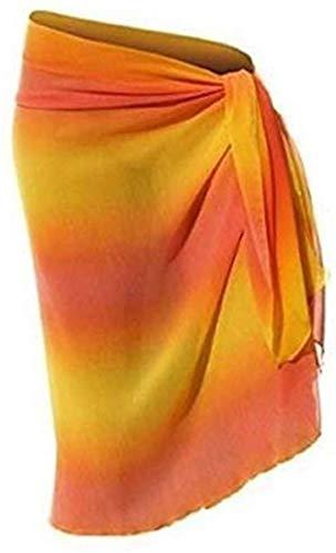 Heine Pareo Strandkleid Gelb Mehrfarbig - Eine Größe