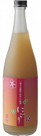 八海山の焼酎で仕込んだ本物志向の にごりうめ酒 1800ml 八海醸造 梅酒