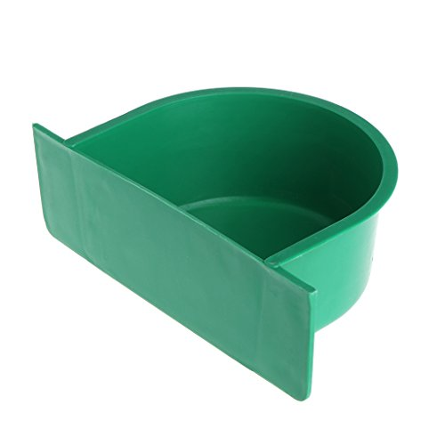BouT Vogelfutterstation – Wasserfutterbehälter für Papageien, Taubenkäfig, Haustiere, Vogelfutter-Tasse aus Kunststoff