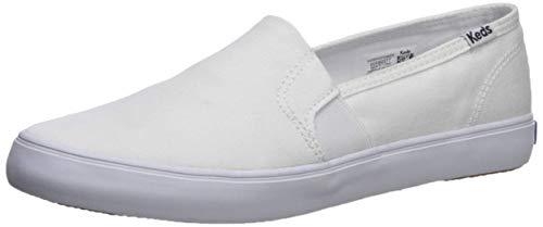 Keds Women's Champion Slip On Leather Sneaker, White, 9