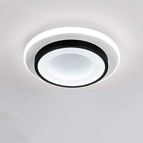 Goeco LED Lámparas de Techo, 20W Lamparas dormitorio acrílica Forma redonda para...