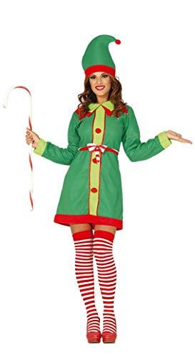 GUIRMA Costume Elfo Donna Folletto Donna