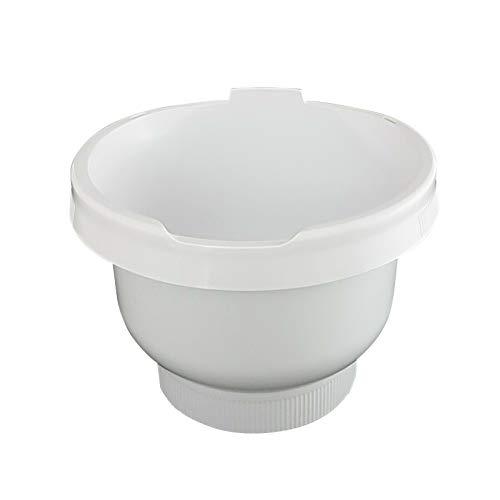Kunststoff Rührschüssel weiß MUZ4KR3 passend für Küchenmaschine MUM4 Ersatzteil Zubehör 650541