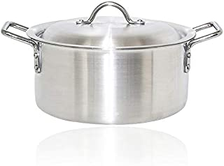 10 Pieces Aluminium CookWare Set With Lid [YT004]