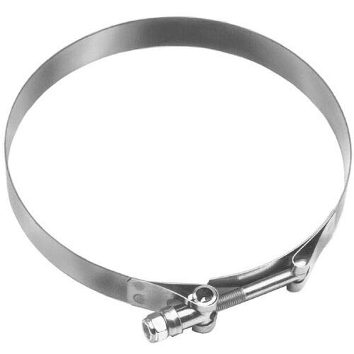 Heavy Duty 9-1/2 inch Stainless Steel T-Bolt Hose Clamp - HSTBC950