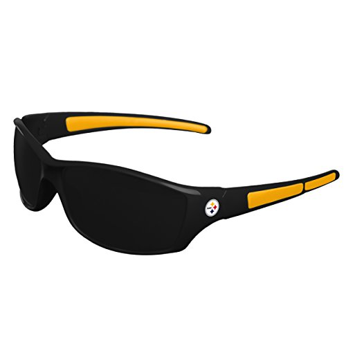 FOCO NFL Pittsburgh Steelers Sports Fan Sunglasses, Team Color, One Size