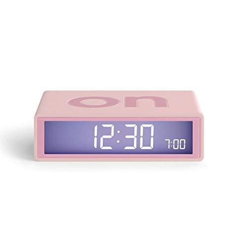Lexon Flip+ Travel Despertador LCD Huckleberry