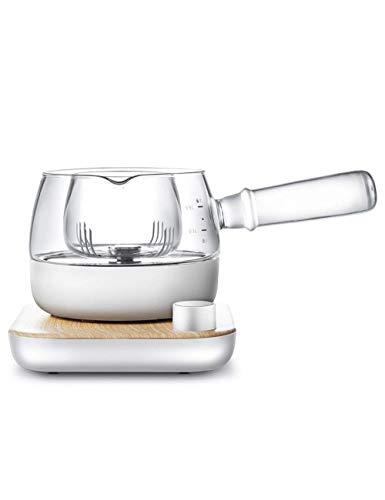 Tetera de hervidor de hervidor de vidrio de alta temperatura de la tetera Filtro de tetera de té de té de preparación de té de preparación eléctrica Tetera de tetera de calibre grande Qingchunw