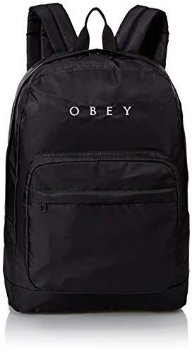 Obey Damen Drop Out Backpack Rucksäcke, schwarz, Einheitsgröße