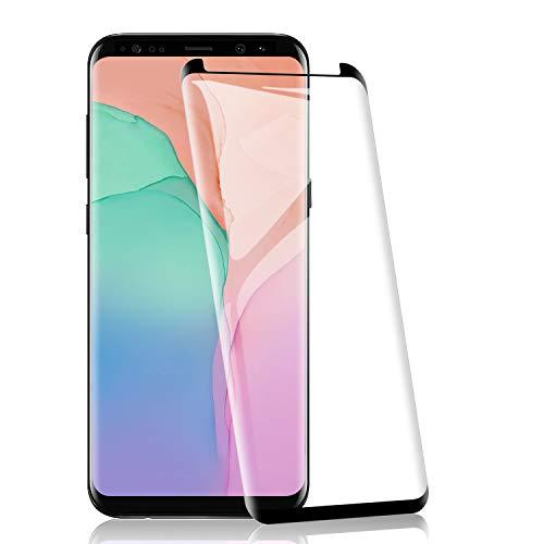 RIIMUHIR Protezioni per Lo Schermo per Samsung Galaxy S9 Plus[2 Pezzi], Pellicola Vetro Temperato 9H Durezza, Protettiva in Vetro Temperato per Samsung Galaxy S9 PlusSenza Bolle, Trasparente