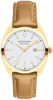 Movado Heritage-Datron Quartz Silver Dial Ladies Watch