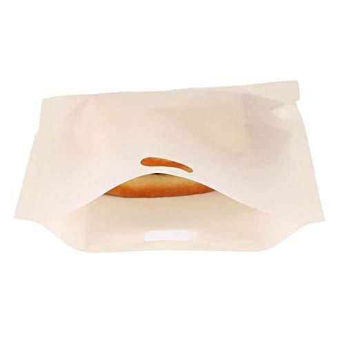 Fdit Wiederverwendbare Antihaft Toaster Tasche beschichtete Fiberglas Mikrowellen Heizung Gebäck Toaster Brot Sandwich Taschen MEHRWEG VERPACKUNG socialme-EU(17 * 19CM)