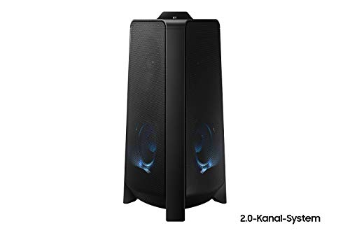 Samsung Sound Tower Lautsprecher MX-T50, Bluetooth, 2.0-Kanal-System, Bass Booster, Karaoke-Modus