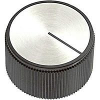 Ehc (Electronic Hardware) Round Knob with Line Indicator, 6.35Mm - EH71-3C2S