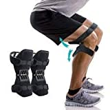 Magnova Knee Braces for Men & Women Spring Knee Booster Power Knee Supportfor Running, Weightlifting, Sports, Squats, Gym Mountaineering Knee Lift Patella Booster