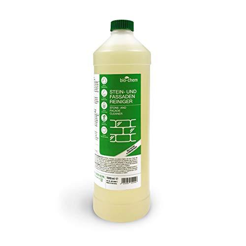 Bio-Chem Stein- und Fassadenreiniger 1000 ml Grünbelagentferner 10-Fach Vollkonzentrat