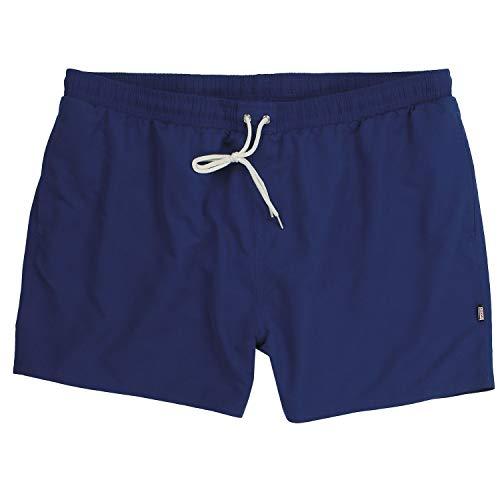 ADAMO Übergrößen Kurze Herren Badehose Serie Jamaica Marineblau - Größe 2XL bis 12XL, Größe:6XL