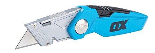 OX Tools OX-P221301 Pro Fixed Blade Folding Knife,...
