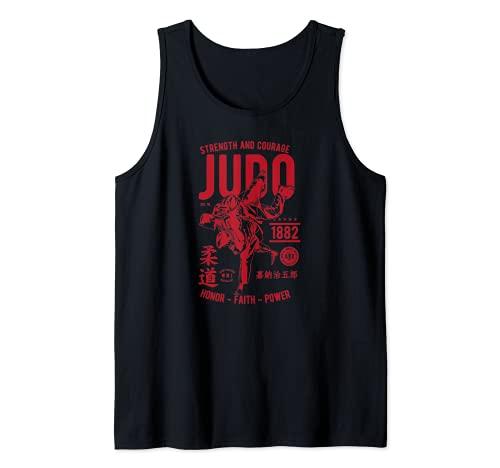 Kampfsport Judo rotes Design zwei...