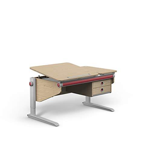 moll Winner Twin Box Eiche Kinderschreibtisch Erweiterung, Holz, 7.64 kg