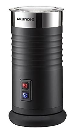 Grundig MF 5260 - Batidora Espumadora de Leche Automática, 400 W, Color Negro y Plateado