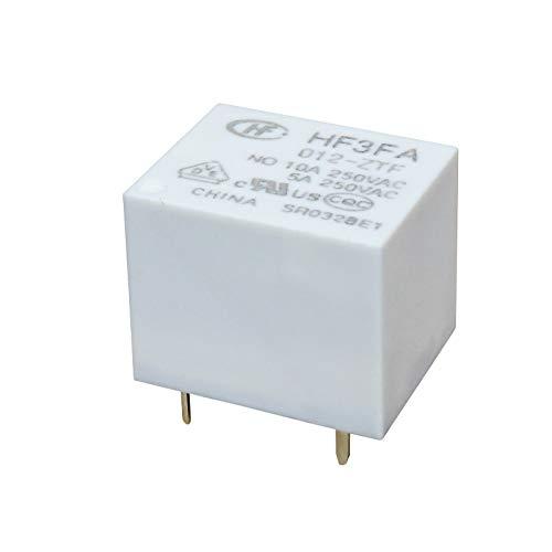 Subminiatur-Leistungsrelais, 12V-, 10A/250V, 1 Wechsler