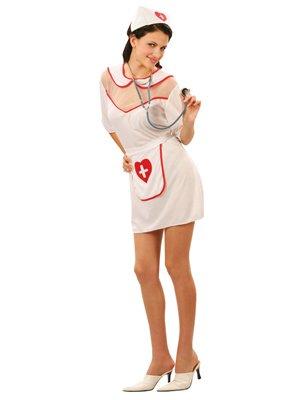 Prezer Sexy verpleegster dameskostuum carnavalskostuum