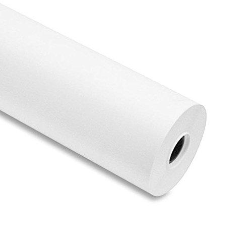Rolle Plotter 91,4 cm x 50 m 90 g/m² Kern 50 Papier weiß A0 für Plotter HP und Epson