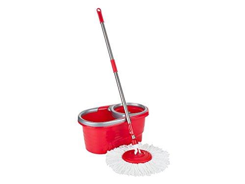 Teesa Easy Clean 2 Mocio Rotante e Secchio Pulizia Casa Pavimenti