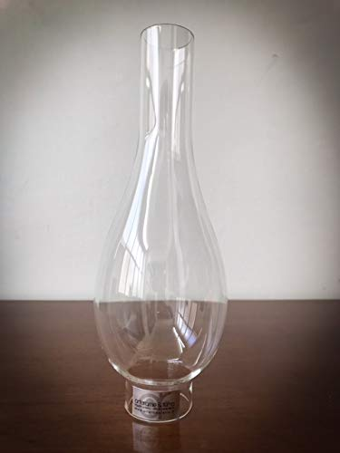Pantalla de cristal con base de 3,7 cm para lámparas de pet