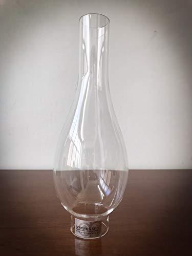 Lampenschirm aus Glas Basis 3,7 cm für Petroleumlampen